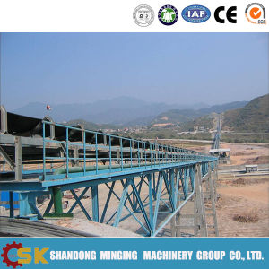 The Long Distance Turning Belt Conveyor