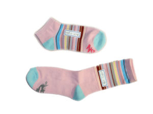 Ankle Stocking Sports Socks with Color Dyed Cotton (fss-08) pictures & photos