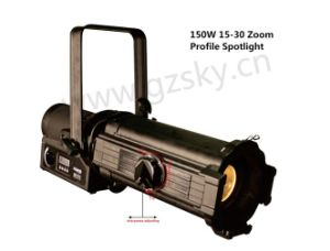 150W LED Zoom Profile Light for Theater/TV pictures & photos