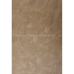 PU Leather Yangbuck Leather (C-220-5)