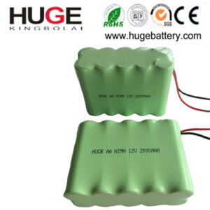 12V 12*AA Ni-MH Battery with Wire (KBL-12NiMH) pictures & photos