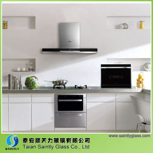 6mm Tempered Decorative Glass Panel for Kitchen Appliance