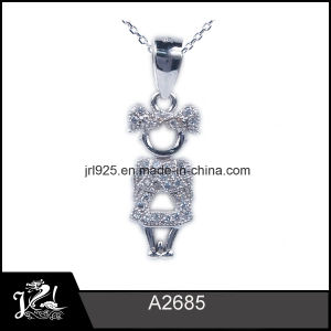 China 2015 little girl cz stone pendant 925 sterling silver 2015 little girl cz stone pendant 925 sterling silver wholesale aloadofball Image collections