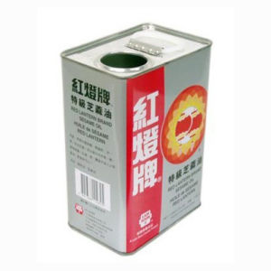 4 Liters Edible Oil Tin Can pictures & photos