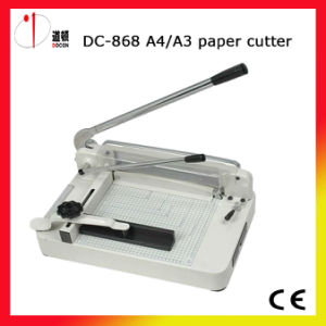 Offical Supplier! ! ! DC-868 A4/A3 Manually Paper Cutting Machine, Paper Cutter