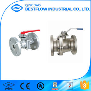Carbon Steel/Stainless Steel Ball Valve with Thread pictures & photos