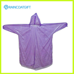 Lightweight PE Camping Raincoat Rpe-066 pictures & photos