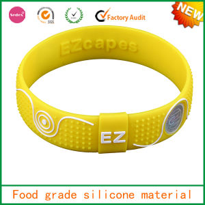 Multi-Function Hot Selling Silicone Medical Bracelet
