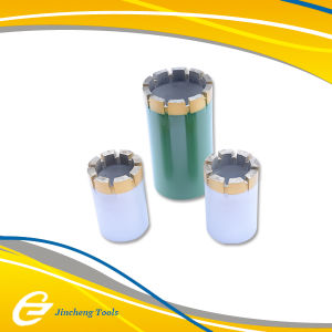 Impregnated Diamond Core Drill Bits for Hard Rock