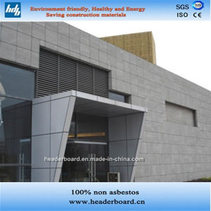 Outdoor Fiber Cement Wall Panel