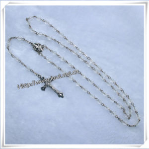 Plastic Angle Beads Rosary Bead Cross Shape Chain Rosary (IO-cr029) pictures & photos