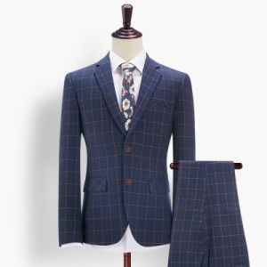 Latest Design Wool Coat Pant Men Suit pictures & photos