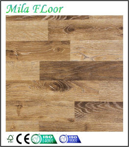 Best Price Waxed Unilin 3-Strips Oak Laminated Wooden Flooring (83309#)
