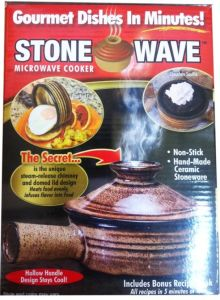 Creamic Stone Wave Microwave Cooker (TV136) pictures & photos