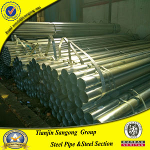 "Gi Pipe 2"" Ss400 Galvanized Steel Pipe Used for Greenhouse pictures & photos"