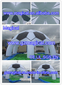 Football Shaped Inflatable Marquee Spider Tent (MIC-027) pictures & photos