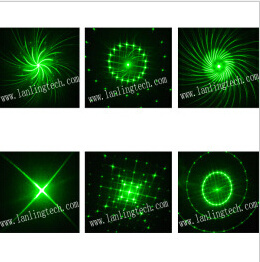 Mini Laser Light 200MW GB 12 Gobos and 3W Blue LED Light with Remote Control pictures & photos