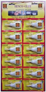 12 PCS Super Glue in Plastic Bottle for Banner pictures & photos