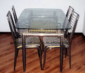 Tempered Table Glass with Ce. ISO