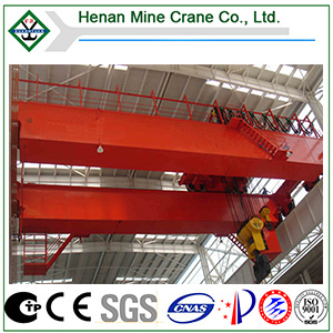 Double Beam Eot Crane 5t~50t Cap. with Hook pictures & photos