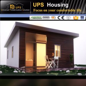 China Manufacturer Flat Roof Prefabricated House