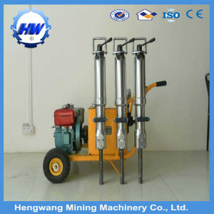 Granite Splitting Tools Diesel Driven Hydraulic Rock Splitter pictures & photos