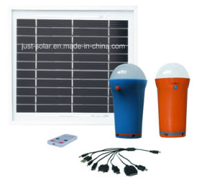 Hot Sale Solar LED Home Light 1W to 3W Is Adjustable pictures & photos