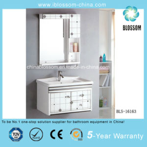 PVC Bathroom Cabinet, Vanity (BLS-16163) pictures & photos