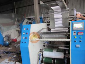 Fts-500 Auto PE Stretch Film Rewinding Machine (CE) pictures & photos