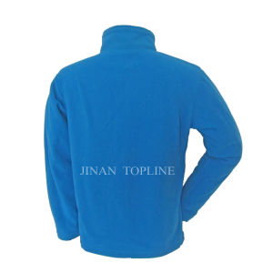 Men Full Zipper Microfleece Bonded-Fleece Leisure Jacket Sports Wear pictures & photos