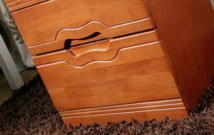 Solid Wooden Drawers Cabinet Modern Nightstand (M-X2079) pictures & photos