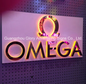 Waterproof Stainless Steel Backlit Letter Sign pictures & photos