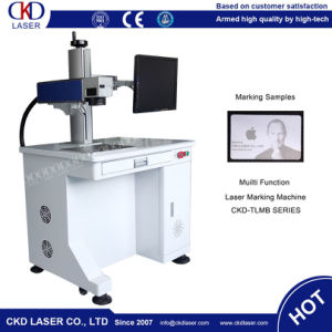 Laser Safety Class 1 Fiber Laser Marking Machine for Water Pipe Connector pictures & photos