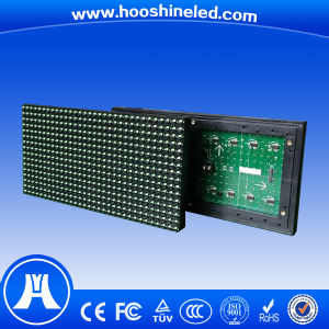 Long Durability Single Green Color P10 DIP Electronic Display Board pictures & photos