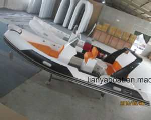 Liya 5.2m Inshore Inflatable Fishing Boat with Outboard Engine pictures & photos
