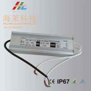 High Power LED 12VDC/24VDC 150W Waterproof Driver for Lighting pictures & photos