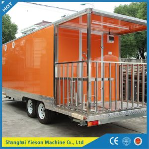 Mobile Restaurant Bus / China Mobile Food Cart Snack Bar pictures & photos