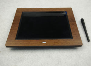 Wooden LCD Digital Photo Frame pictures & photos