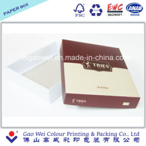 Two Pieces Foldable Paper Box pictures & photos