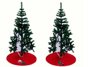 Wholesale Embroidery Promotion Christmas Tree Skirt pictures & photos
