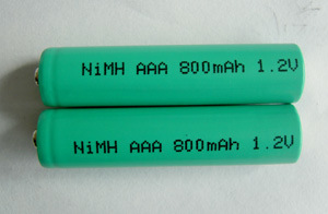 Ni-MH 800mAh AAA Rechargeable Battery