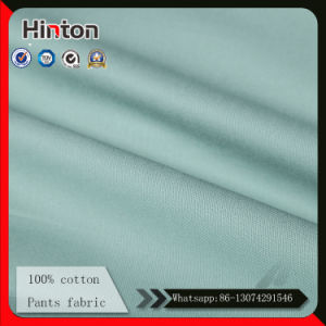 Factory Hot Selling 100% Cotton Pants Fabric 240GSM pictures & photos
