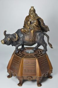 Lao Zi Bronze Sculpture with Deep Chinese Culture