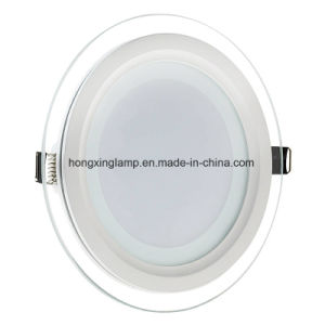 LED Downlight 9W 12W 18W Round Glass LED Panel Light pictures & photos