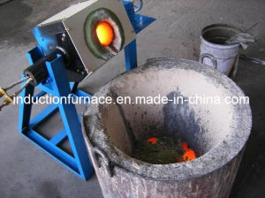 Industrial Induction Furnace Aluminum Ingot Melt Furnace Manufacturer pictures & photos