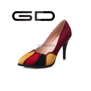 China Footwear Manufacture Design Cheap Fashion Ladies Dress Shoes