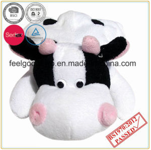 750ml Rubber Hot Water Bottle with Animal Shape Cover pictures & photos
