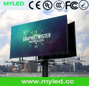 Outdoor Digital Comercial Advertising P6.67 LED Display Panel