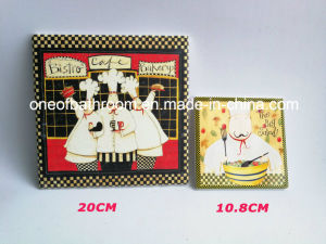 Good Quality Square Style Ceramic Coaster for Table pictures & photos