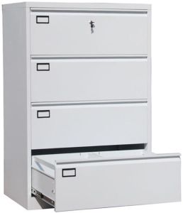 4 Drawer Legal Size Horizontal File Cabinet For